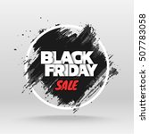 black friday sale. abstract... | Shutterstock .eps vector #507783058