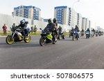 shymkent  kazakhstan   october... | Shutterstock . vector #507806575