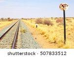 Railway Tracks Between Windhoe...