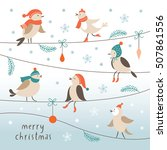 christmas illustration | Shutterstock .eps vector #507861556