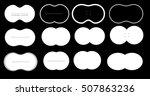 virtual reality glasses screen... | Shutterstock .eps vector #507863236