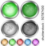 dna. vector internet buttons. | Shutterstock .eps vector #50787430