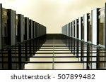 office building facade | Shutterstock . vector #507899482