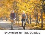 senior couple outdoors | Shutterstock . vector #507905032