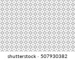 minimalistic light grey poker... | Shutterstock .eps vector #507930382