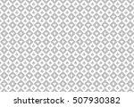 minimalistic light grey poker... | Shutterstock .eps vector #507930382