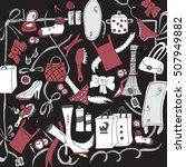female things   Shutterstock .eps vector #507949882