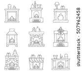 vector cartoon illustration... | Shutterstock .eps vector #507962458