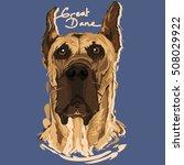 a vector illustration of great... | Shutterstock .eps vector #508029922