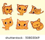 Stock vector cat 50803069