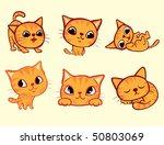 cat | Shutterstock .eps vector #50803069
