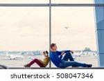 during long waiting. shot of... | Shutterstock . vector #508047346