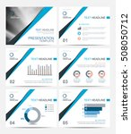 business presentation template... | Shutterstock .eps vector #508050712