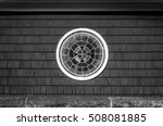 decorative stained glass round... | Shutterstock . vector #508081885