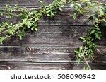 photo of vintage old wooden... | Shutterstock . vector #508090942