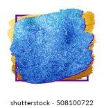 quote blank template. vector... | Shutterstock .eps vector #508100722
