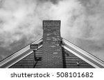 top of external brick chimney... | Shutterstock . vector #508101682