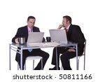businessmen in an office...   Shutterstock . vector #50811166