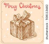vector retro illustration of...   Shutterstock .eps vector #508113682