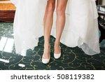 beautiful bride. wedding... | Shutterstock . vector #508119382