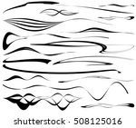 automotive stripe decals | Shutterstock .eps vector #508125016