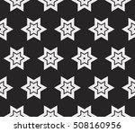 seamless vector pattern. floral ... | Shutterstock .eps vector #508160956
