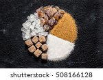 inscription sugar written in... | Shutterstock . vector #508166128