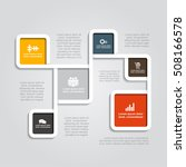 infographic design template...   Shutterstock .eps vector #508166578
