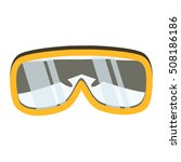 safety glasses tool icon.... | Shutterstock .eps vector #508186186