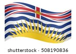 canadian provincial bc... | Shutterstock .eps vector #508190836