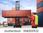 foreman control loading... | Shutterstock . vector #508203922