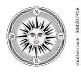 compass rose design | Shutterstock .eps vector #508207456