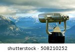 amazing view  with a binocular... | Shutterstock . vector #508210252