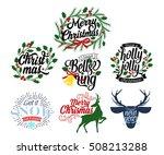 premium christmas design...   Shutterstock .eps vector #508213288