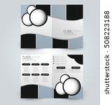 abstract flyer design... | Shutterstock .eps vector #508223188