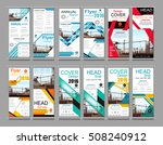 collection roll up business... | Shutterstock .eps vector #508240912