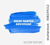 logo brush painted watercolor... | Shutterstock .eps vector #508259212