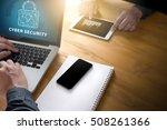 cyber security business ... | Shutterstock . vector #508261366
