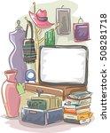 garage sale illustration...   Shutterstock .eps vector #508281718