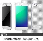 realistic set vector... | Shutterstock .eps vector #508304875
