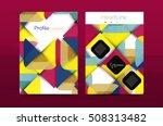 geometric design  business... | Shutterstock . vector #508313482