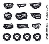 sale pointer tag icons.... | Shutterstock .eps vector #508319698