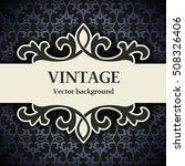 vintage vector background | Shutterstock .eps vector #508326406