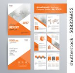 page layout for company profile ... | Shutterstock .eps vector #508326652