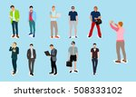 style and casual people | Shutterstock .eps vector #508333102