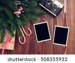 Blank Photo Frames With...