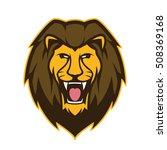 lion head mascot | Shutterstock .eps vector #508369168