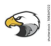 eagle head mascot | Shutterstock .eps vector #508369222