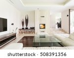 spacious area of living room... | Shutterstock . vector #508391356