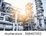 industrial zone the equipment... | Shutterstock . vector #508407352